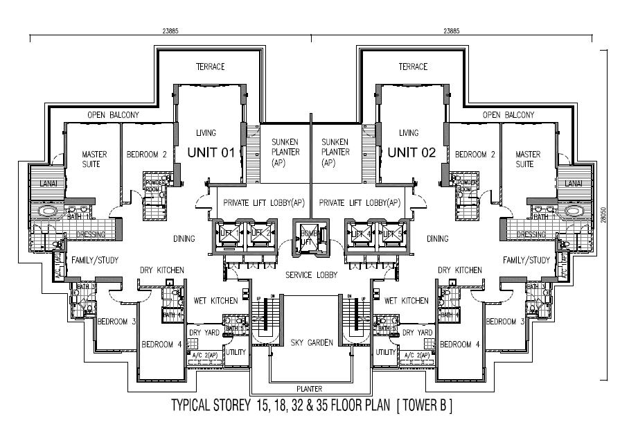 One Tanjong | Floor Plan